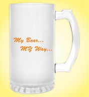 Froasted Beer Mug- My Beer My Way
