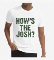 Unisex How's the Josh White Round Neck Dri-Fit Tshirt