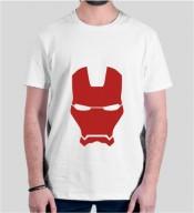 Unisex Super Heros  White Round Neck Dri-Fit Tshirt