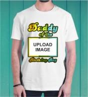 Dady of the Birthday Boy Dri Fit Tshirt-006C