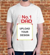 No.1 Daddy Dri Fit Tshirt-008C