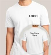 White Dri Fit Round Neck T-shirt (160gsm)