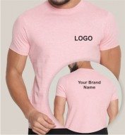 Pink Dri Fit Round Neck T-shirt (160gsm)