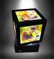 Personalized Photo Rotating Lamp