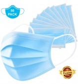 Pack of 50- 3 Ply Disposable Surgical Mask