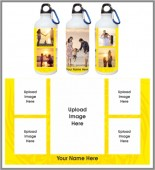 CUSTOMIZED FAMILY PHOTO SIPPER BOTTLE