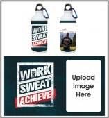 WORK SWEAT ACHIEVE MOTIVATIONAL GYM SIPPER BOTTLE