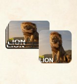 Customize Coaster with The Lion image