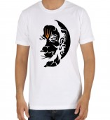 Unisex- Lord Hanuman White Round Neck Dri-Fit Tshirt