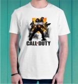 CALL OF DUTY-GAMING-ROUND NECK TSHIRT FOR BOYS