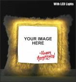 Happy Anniversary  LED Cushion