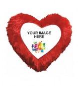 Happy Birthday Heart Cushion HSC-009