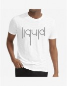Unisex- Liquid White Round Neck Dri-Fit Tshirt