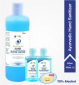 Ayurvedic Khadi Hand Sanitizer, Combo Pack- 700 ML