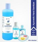 Ayurvedic Khadi Hand Sanitizer, Combo Pack- 800 ML
