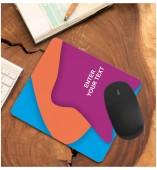 Customized Mouse Pad With Your Text Message