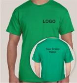 Green Dri Fit Round Neck T-shirt (160gsm)