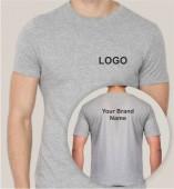 Grey Dri Fit Round Neck T-shirt (160gsm)